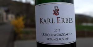 Den nye Karl Erbes etiket