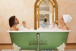 Champagne_bath