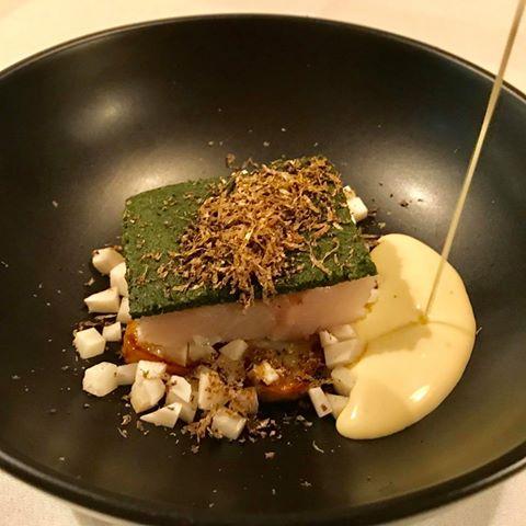 Bagt torsk med urte-crust