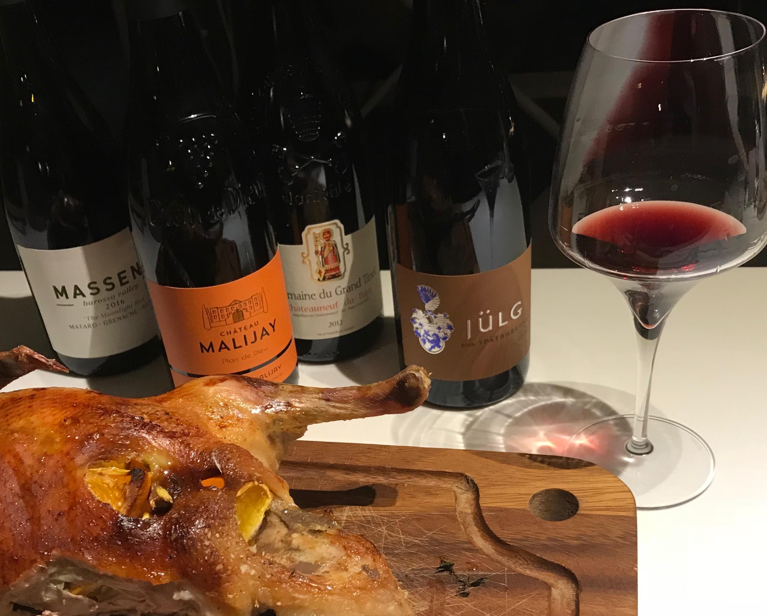 Om at vælge vin til julemaden
