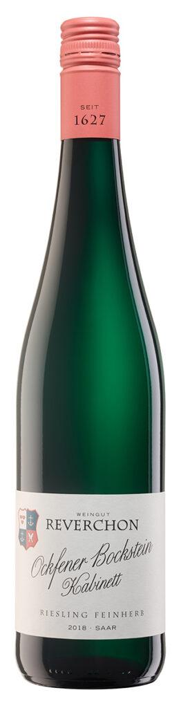 En flaske Ockfener Bockstein Kabinett fra Weingut Reverchon